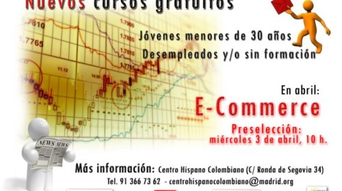 Curso gratuito E-Commerce en el Centro Hispano Colombiano