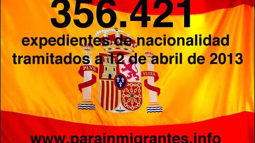 Superada la barrera del 75% de expedientes de nacionalidad tramitados dentro del Plan Intensivo de Nacionalidad