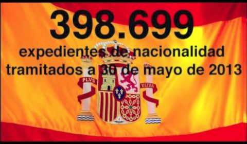 398.699 Expedientes de Nacionalidad Tramitados a 30 de Mayo de 2013