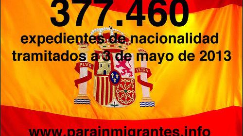 Los Registradores vuelven a coger ritmo en la tramitación de expedientes de Nacionalidad Española