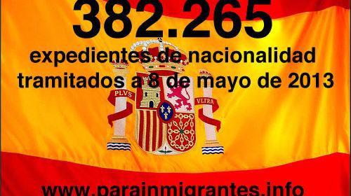 Plan Intensivo de Nacionalidad: 82% de expedientes de nacionalidad tramitados