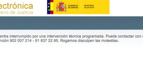 Problemas para acceder a la web de consulta de expedientes de nacionalidad