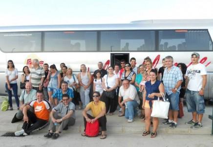 El viernes 19 de julio se concretó el décimo viaje al Consulado Argentino en Barcelona organizado por la Asociación Argentinos de Elche
