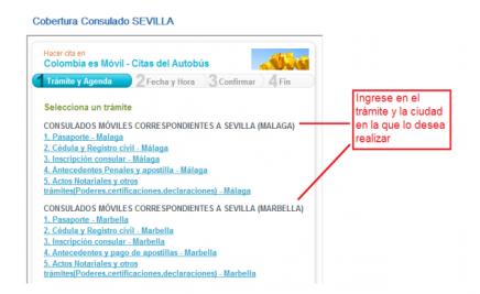 cita previa consulado móvil colombia