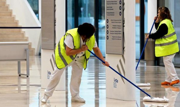 ofertas de trabajo en el sector de la limpieza