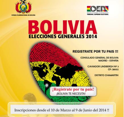 Elecciones de Bolivia