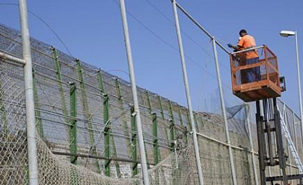 Nueva valla de Melilla
