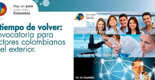 Es tiempo de volver: Convocatoria para doctores colombianos en el exterior
