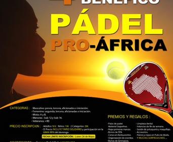4º Torneo Benéfico de Pádel Pro-África