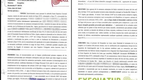 Cómo reconocer un divorcio extranjero en España