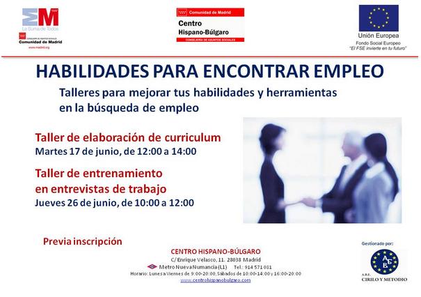 nuevo taller del centro hispano búlgaro