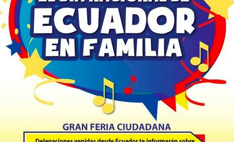 Ecuatorianos celebraron su fiesta nacional en España