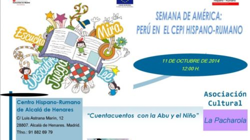 «Semana de América» en el Centro Hispano-Rumano de Alcalá de Henares