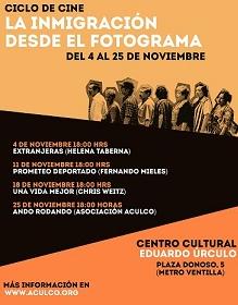 Ciclo de Cine «La Inmigración desde el Fotograma»