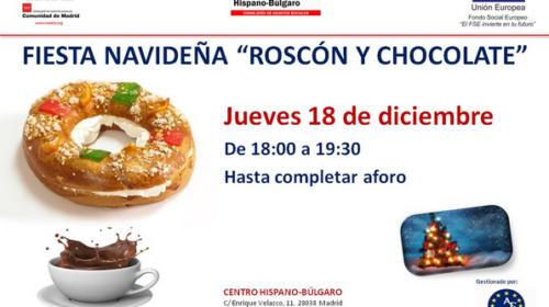 Fiesta Navideña «Roscón y Chocolate» en el Centro Hispano Búlgaro