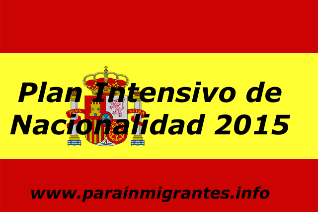 plan intensivo nacionalidad 2015