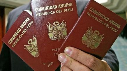 pasaporte del perú
