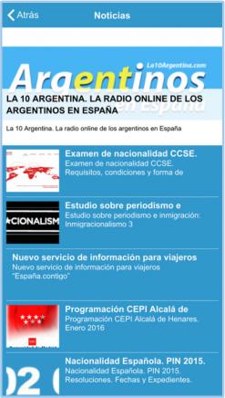 aplicación parainmigrantes