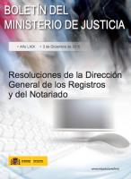 Dirección General de los Registros y del Notariado