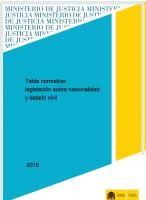 tabla normativa