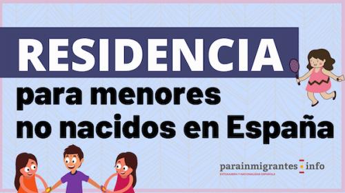 Residencia para menores no nacidos en España