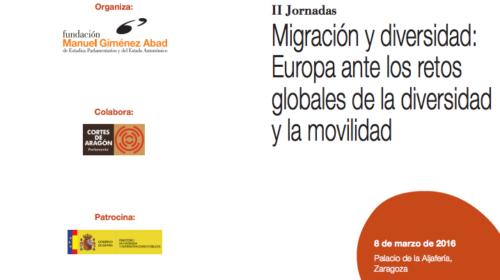 II Jornadas Migración y diversidad: Europa ante los retos globales de la diversidad y la movilidad