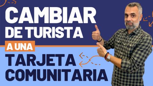 Entrar en España como turista y solicitar la tarjeta comunitaria