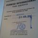 Permiso Internacional de Conducción