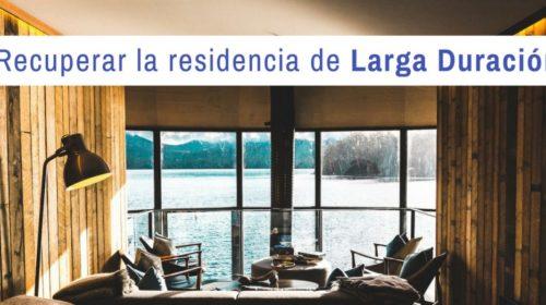 Recuperación de la titularidad de una residencia de larga duración