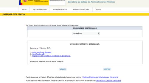 Problemas para obtener citas en la Comisaría de Policía de Barcelona