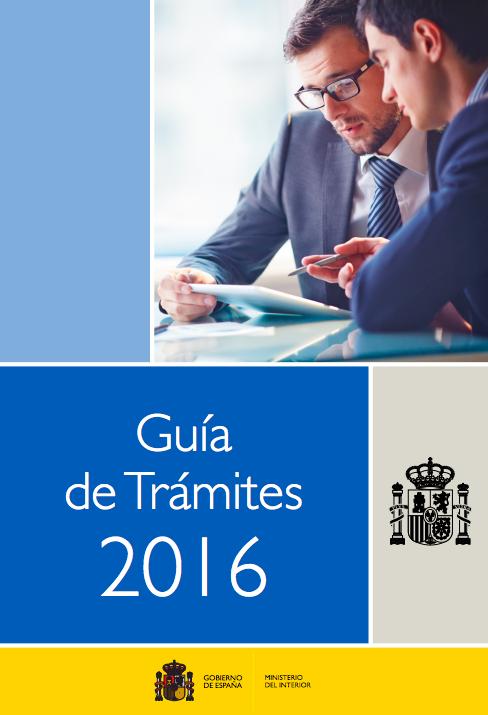 Gu a de tr mites 2016 del ministerio del interior for Llamado del ministerio del interior 2016