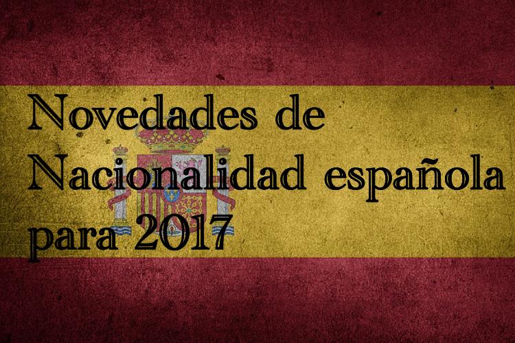 Nacionalidad española 2017