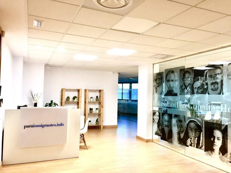 Nueva oficina de en granada for Oficina extranjeria madrid