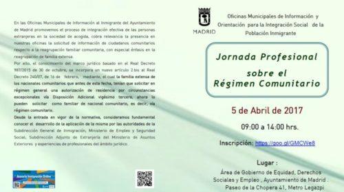Jornada profesional sobre el Régimen Comunitario