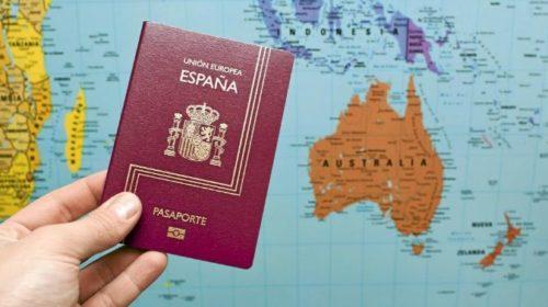 Retirada del pasaporte a menores españoles