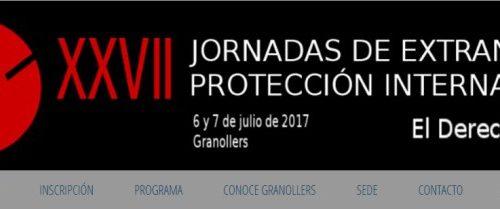 XXVII Jornadas de Extranjería y Protección Internacional