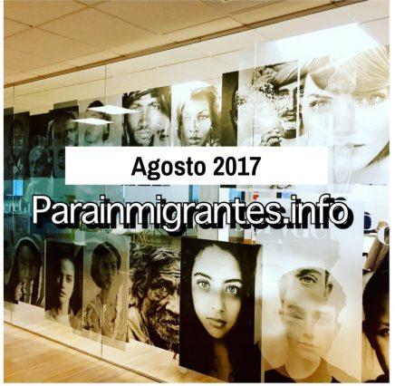 Noticias destacadas Parainmigrantes Agosto 2017