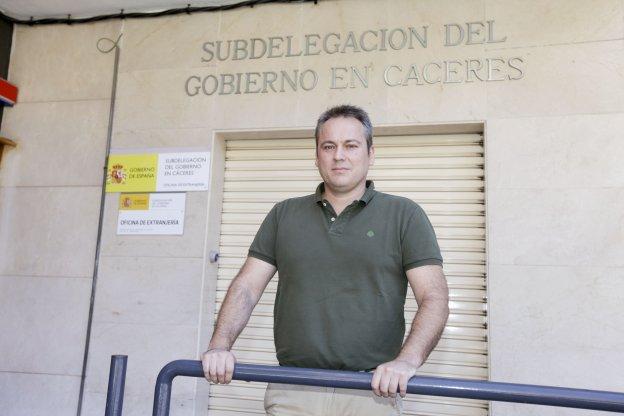 La Oficina de Extranjería de Cáceres