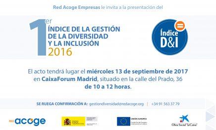 1º Índice de la Gestión de la Diversidad y la Inclusión 2016