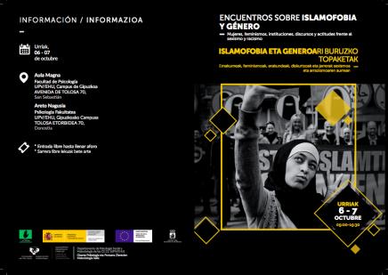Jornadas sobre mujeres e islamofobia