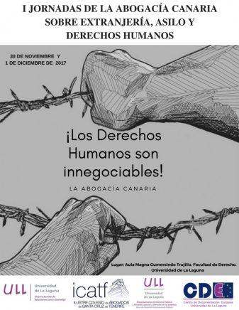 I Jornada de la Abogacía Canaria sobre Extranjería, Asilo y Derechos Humanos