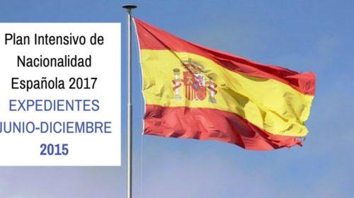 Encomienda de gestión tramitación expedientes nacionalidad española 2º semestre 2015