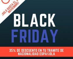 Black Friday en Parainmigrantes.info con un 35% de descuento