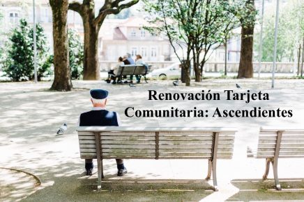 Renovación tarjeta comunitaria: ascendientes