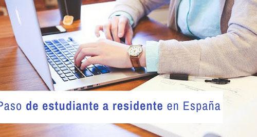 De estancia por estudios a residencia y trabajo