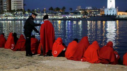 llegada de inmigrantes irregulares a España