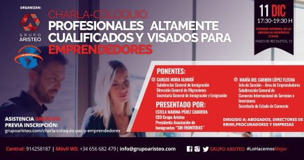 Profesionales altamente cualificados y visados para emprendedores