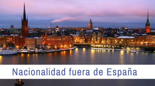Pedir la nacionalidad española fuera de España