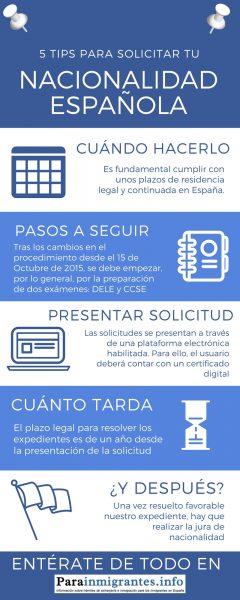 5 tips para solicitar nacionalidad española