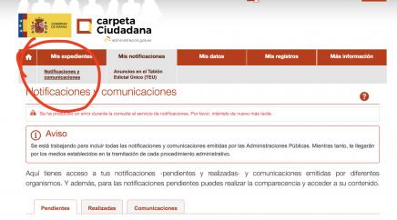 notificación de concesión de la nacionalidad española